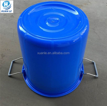 Food grade stackable plastic bucket of water with bottom price