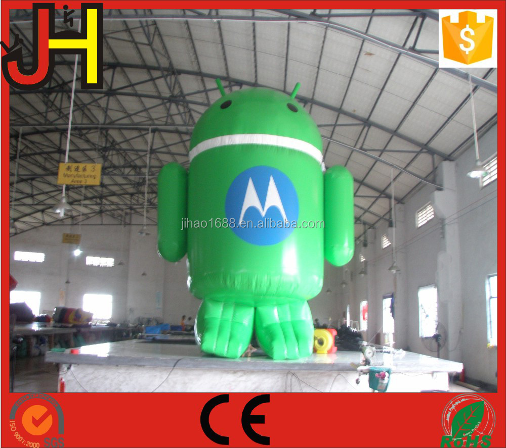 Green Advertising Inflatable,Customized Inflatable Bouncer For Sale