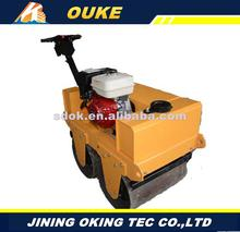 Multifunctional walking type 1 ton asphalt pavement road roller,Hond gasoline 1 ton road roller spare parts with low price