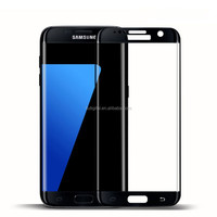 Hot Selling 3D FullCover Tempered Glass Screen Protector for Samsung Galaxy S7