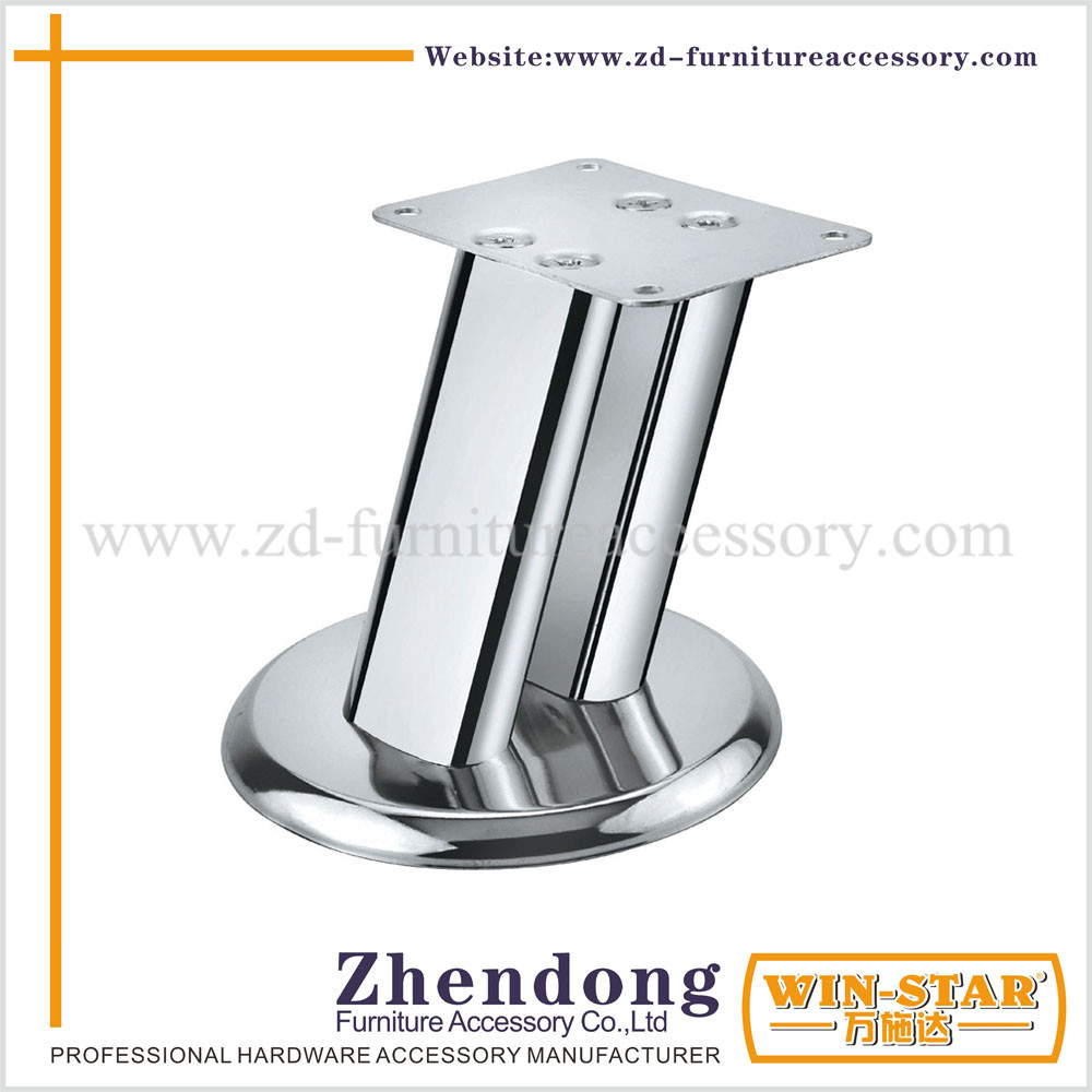 ZD-A016 Unique Design Double Pipe Furnitures Sofa Legs Hairpin Legs
