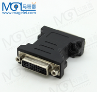 24k Gold-Plated DVI 24+5 Female to Female DVI Adapter For DVI Cable