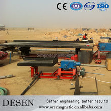 High Recovery Shaking Table Separate Better Tin Ore Concentrate