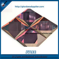 Mirror supplier hot sale faceted Silver Mirror glass decoration