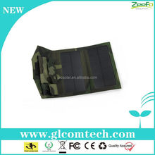 rechargeable external battery charger mobile phone solar power pack with led light