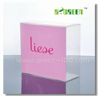 2016 Plastic Packaging PVC Box for Gift with Silk-screen Printing