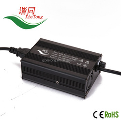 EV Charger Factory 48Volt 2A Scooter Battery Charger Lithium 13s 54.6V 2amp 2A Vehicle