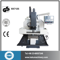 XK7125 CNC Milling Machine for Metal Shaping