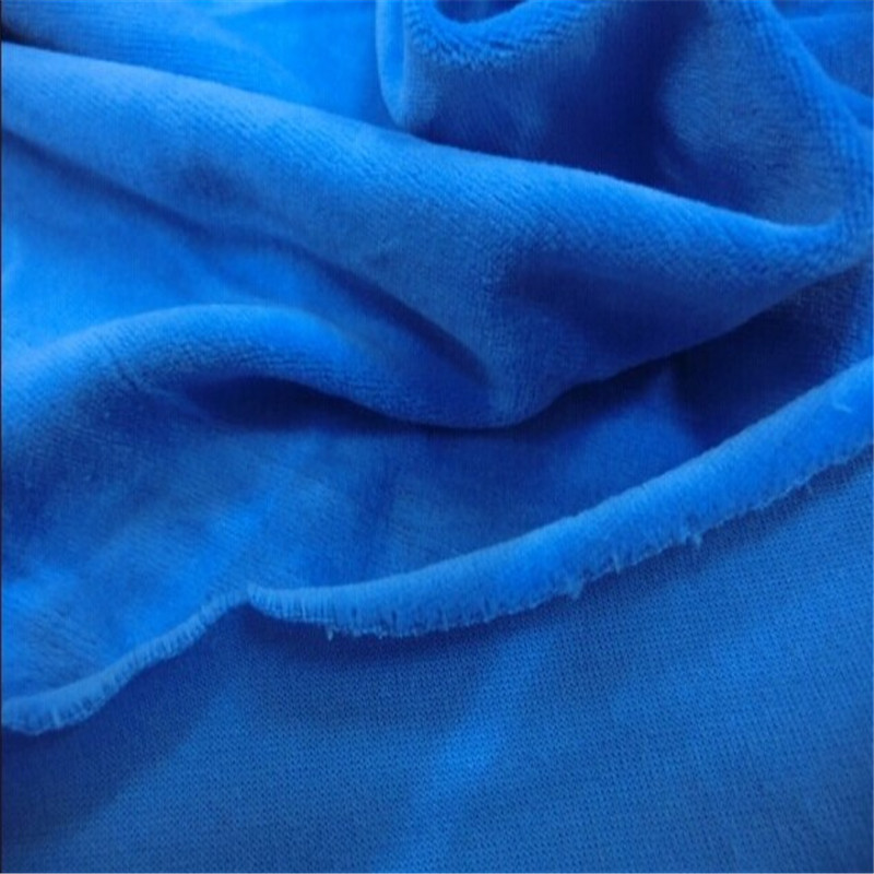 220gsm thickness velure 80 Cotton 20 Polyester cotton veloure fabirc