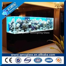 Made in China smart clear glass/acrylic remote control fiber fish aquarium tank