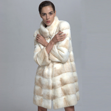 2017 Wholesale Winter High Quality Luxury 100% Real Mink Fur Coat
