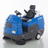 Industrial electric sweeper with good performance