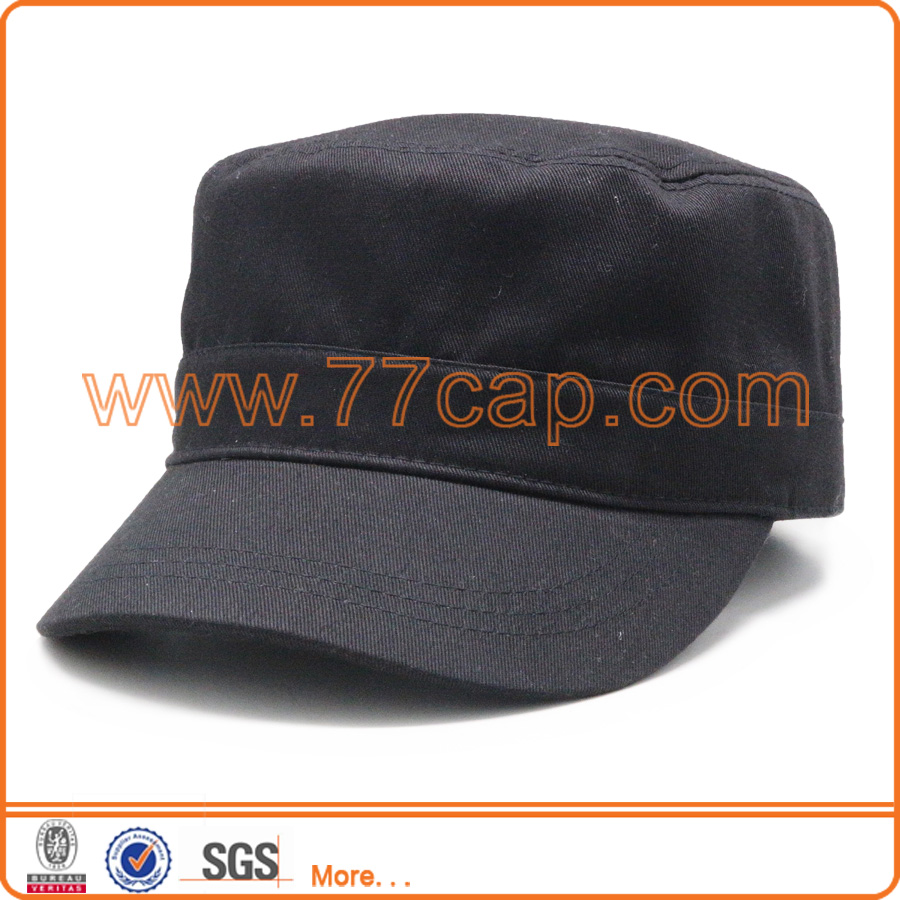 custom blank army cap cotton military snapback round caps and hats for adult