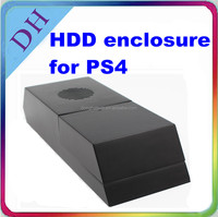 HDD case for Playstation 4/ black cover combine with console for PS4 hard drive