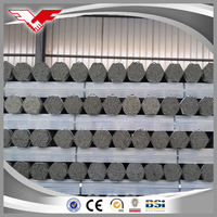 48.3*3.25*6m BS1837 HDG steel pipes scaffolding pipes/galvanized scaffolding tube / BS1139 & EN39 48.3mm