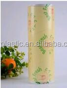 BPA FREE Top Quality PVC Cling Film PVC Food Wrap Film With Best Price