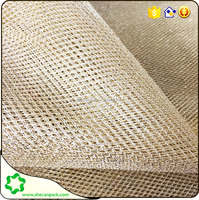 a variety of color metallic net fabric wrapping