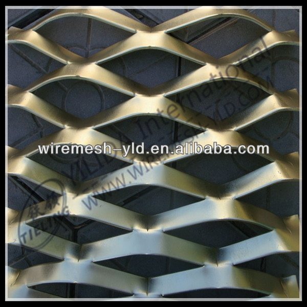 high quality hexagonal pattern expanded metal decoration <strong>mesh</strong>