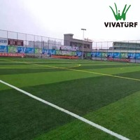 VIVATURF Lawn FIFA Standard 50mm Artificial Grass Carpets For Football Stadium