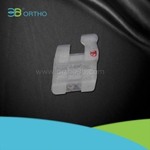 Hangzhou 3B Orthodontic brace clear Ceramic bracket