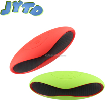 2017 OEM Colorful Oval Shape Rugby Ball Bluetooth Speaker With TF Card Rm Radio