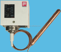 Temperature control electric switch