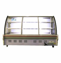 Horizon dish order cabinet series cake display chiller refrigeration display cabinet