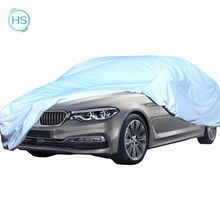170T 190T Polyester Car Cover with silver coated