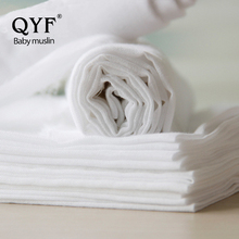 bleached 100% organic cotton printed percale muslin fabric