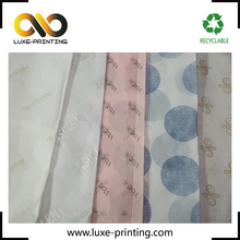 Colorful tissue paper wrapping for chothes custom made 17gsm bulk marble tissue wrapping paper