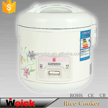 Button Control Non-stick Coating Deluxe Rice cooker