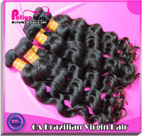 High quality grade 6a tangle free virgin brazilian remy human hair providers