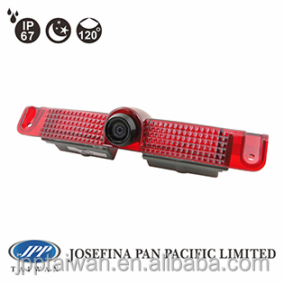 120 degrees 480TVL Third Stop light camera brake light back up camera with IP67 for GM Savana cargo van