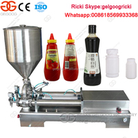 Ketchup filling machine automatic honey filling machine edible oil filling machine
