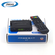 Cheap mini DVB-S2 digital satellite receiver freesat v7 hd decoder