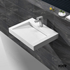 undermount granite cooking basin, solid surface bathroom furniture, marble square sink & bowl