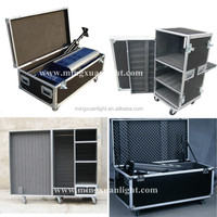 Customize Aluminum U Case Stage Equipment Flight Case with Wheel