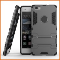 Iron man slim armor case for huawei p8 lite clear case