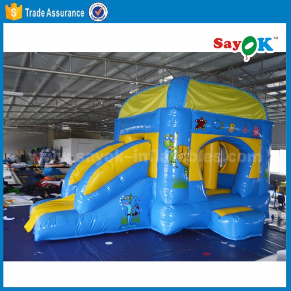 inflatable combo bouncers with slide inflatable air castle bouncy house inflatable jumping castle