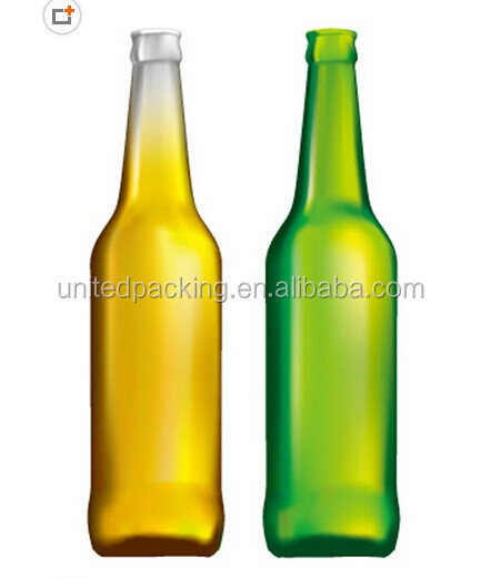 500ml glass beer bottle
