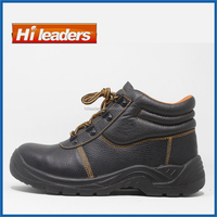 Low Budget Cheap Middle Ankle Safety Shoes with PU Sole for Workman