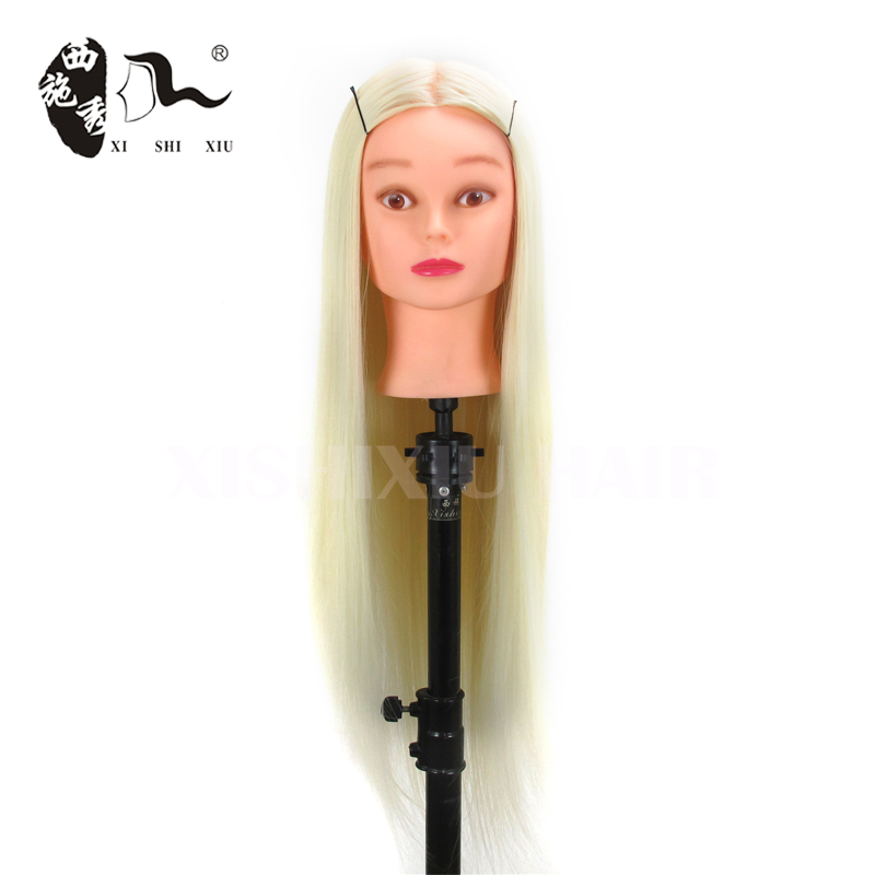 beauty school black training mannequin heads,beautiful mannequin wig heads