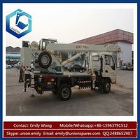 Top Quality Factory Price 7ton Truck Crane used in Construction Work Professional Design