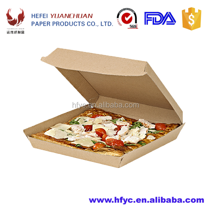 F flute corrugated board series food packaging boxes for fast food