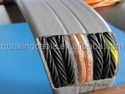 Manufacturer price cat6 elevator cable for cctv camera