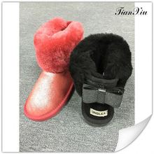 Best selling low price thick platform snow boot reasonable price