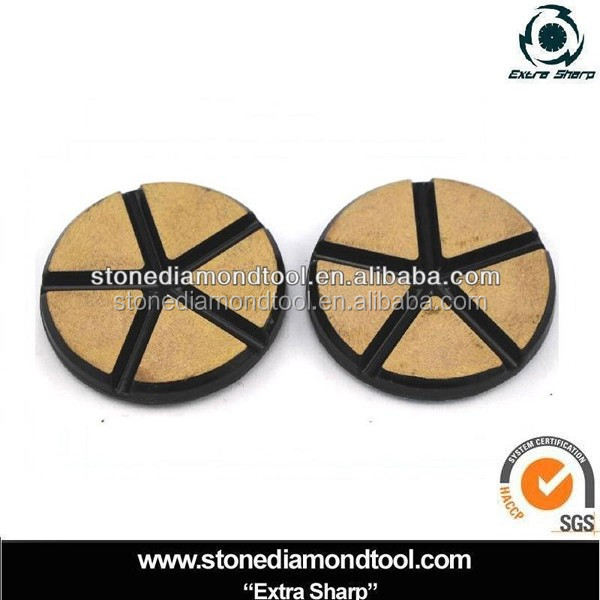 Concrete Floor Ceramic Bond Polishing Puck/ Diamond Tools
