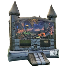 halloween inflatable haunted bounce house for sale / inflatable jumping bouncy castle for holiday / inflatable bouncer for kids