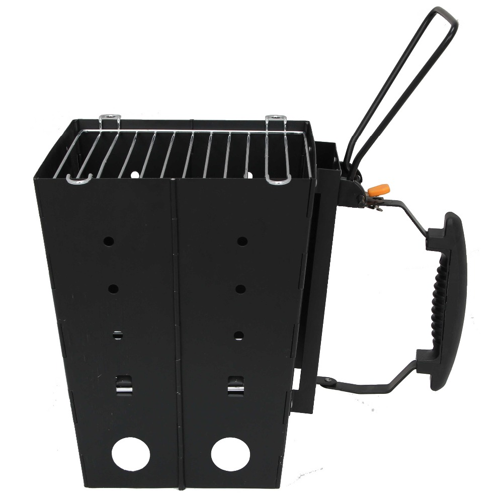 outdoor portable folding charcoal camping bbq grill