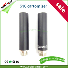 280mah 510 disposable e-cigarette tank Cartomizer 1.0ml Capacity/ 808d e-cig/808D disposable e cig